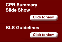 cpr and bls guidelines